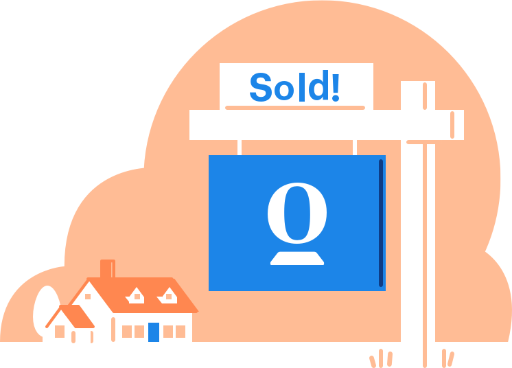 sell home graphic